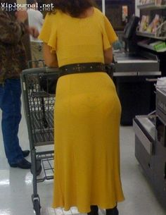 "When you see ""her"" smile, you will know this is a Walmart shopper..lol"