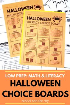 Ideas and Activities for Celebrating Halloween in the Upper-Elementary Classroom, in all subject areas! #3rdgrade #4thgrade #2ndgrade Halloween Math, Halloween Activities, Holiday Activities, Teaching Activities, Classroom Activities, Teaching Math, Teaching Ideas, Classroom Ideas, Teaching Second Grade