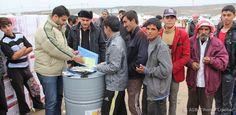 Die Hilfe des ASB für Flüchtlinge im Nordirak läuft auf Hochtouren. Eine Delegation des Auswärtigen Amtes besuchte Hilfsprojekte, um sich einen Eindruck aus erster Hand über die Situation der Menschen zu machen, die vor dem Terror der IS-Milizen flüchten mussten.