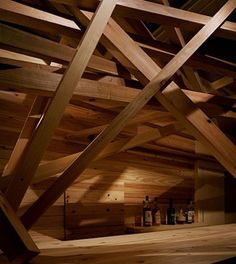 Wooden environment is good, always good for the mancave. Don't disgrace yourself and live inside a grey mancave. It's good to be male and vibrant.