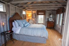 farmhouse bedroom by Nastasi Vail Design