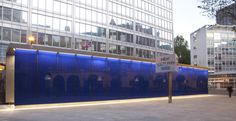 Ian McChesney Architects and Atkins have completed the redesign of the public realm outside New Scotland Yard central London Architects Journal, Atkins, Scotland, Yard, News, Shop, Patio, Courtyards, Garden