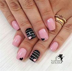 45 Pretty Nails For Valentines That You Will Absolutely Love 30 - Hair and Beauty eye makeup Ideas To Try - Nail Art Design Ideas day nails acrylic short Nägel Gel Rosa Heart Nail Designs, Valentine's Day Nail Designs, Acrylic Nail Designs, Acrylic Nails, Nails Design, Coffin Nails, Nail Designs With Hearts, Stiletto Nails, Summer Nail Designs