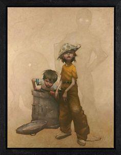 14 Ilustrações criativas mostram crianças fingindo ser personagens da ficção | ROCK'N TECH
