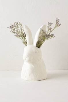 Cholet Hollow Vase | Easter bunny . Osterhase . lapin des Pâques | photo @ anthropologie |