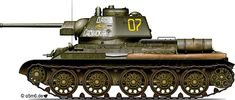 """Engines of the Red Army in WW2 - T-34 Model 1943 """"David of Sasun"""""""