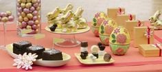 Create a 'WOW' factor with a bold #GODIVA dessert tablescape focused on a simple color palette  bit.ly/yedIP6