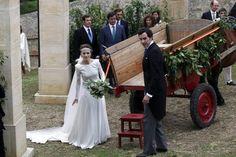 Tamara Falcó, en la boda de la nieta del conde de Revillagigedo - ElComercio.com. Foto 15 de 21