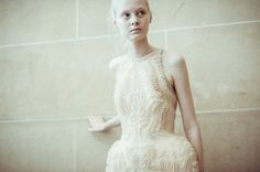 Iris van Herpen-Backstage | Wilderness Embodied Haute Couture
