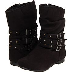 Kid's boots, but they would totally fit me!  Yay for small feet :-)