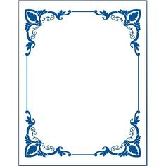 Free Frame Template For Word Allcanwear Org