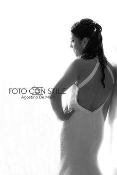 Letizia a nice and young Italian bride  #agostinodemaio.com