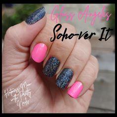 How To Do Nails, Fun Nails, Pretty Nails, Nail Color Combos, Nail Colors, Long Square Nails, Pedicure Colors, Pink Sparkles, Beauty Hacks