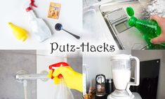 Household tips: 10 brilliant cleaning hacks that leave your life - With these . - Household tips: 10 brilliant cleaning hacks that leave your life – With these household tips and - Diy Home Decor Projects, Diy Projects To Try, Diy Cleaning Products, Cleaning Hacks, Diy Hacks, Putz Hacks, Diy Cleaners, Simple Life Hacks, Wine Bottle Crafts