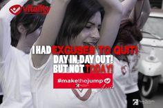 #makethejump