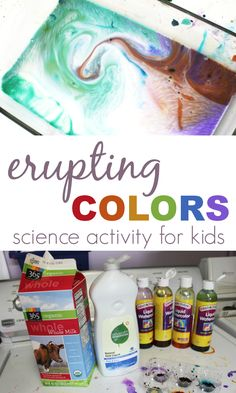 Fireworks! Awesome Color Science Activity for Kids