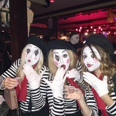 Mime Halloween Costume, Halloween Face Makeup, Fashion Images, Clowns, Lifestyle, Female, Blog, Beauty, Women