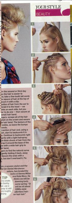 plaited mohawk... This is cool!