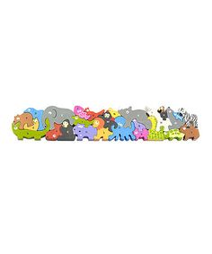 Take a look at this Animal Parade A to Z Puzzle on zulily today!