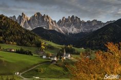 Photograph The colors of Val di Funes by Alessandro Bellani on 500px