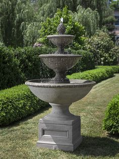 beauport stone fountain: Campania International: outdoor décor