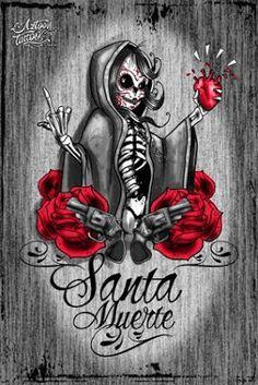 santisima muerte tattoo...