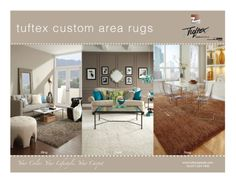 Area Rugs - Custom Sizes and Shapes!