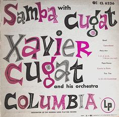 samba with cugat • xavier cugat and his orchestra