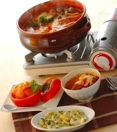 モッツァレラトマト鍋の献立