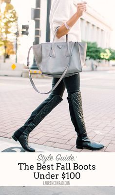 Style Guide: The Best Fall Boots Under $100