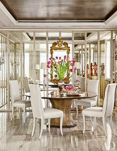 Cool Chic Style Fashion: Decor Inspiration | A Luxe Apartment in Washington, D.C. by Solís Betancourt & Sherrill