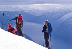 Offpiste skiing FjordNorway