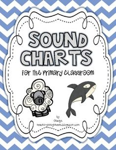 Sound Charts {for the Primary Classroom}...great for displaying those phonics skills in the classroom.