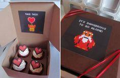 Health-heart cupcakes!