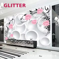 Tv Wall Design, House Design, Modern Tv Wall Units, Large Wall Murals, Photos Booth, Tv Wall Decor, False Ceiling Design, Room Themes, Paint Designs