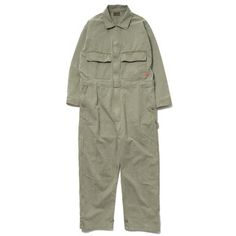 WTAPS HBT All In One / Trousers. Cotton. Hell In Bone Olive Drab