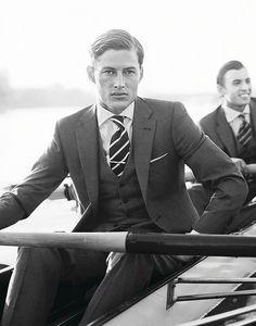 Hackett - On The River by Hackett London, via Flickr   #men // #fashion // #mensfashion