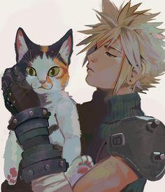 Final Fantasy Vii Remake, Final Fantasy Cloud, Final Fantasy Characters, Final Fantasy Artwork, Lightning Final Fantasy, Cloud And Tifa, Cloud Strife, Manga, Vegito Y Gogeta