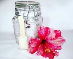 Cranberry Bath Salt - Finesse Studio Online Boutique Bath Salts, Tea Tree, Hibiscus, Online Boutiques, Coconut Oil, Mason Jars, Bath Scrub, Canning Jars, Bath Soak