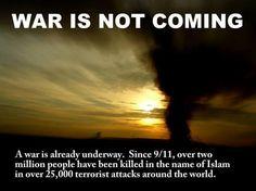 (1) Racy (@RacySicilian)  A War is not coming. A war is already underway
