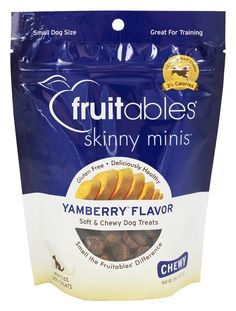Fruitables: Skinny Minis Pumpkin and Berry Soft and Chewy Dog Treats, 5 oz *** Startling review available here  : Dog treats