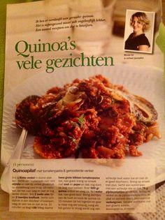 Quinoa pilaf met venkel