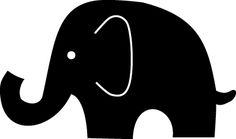 Image gallery for : cute baby elephant silhouette Silhouette Images, Silhouette Portrait, Silhouette Design, Elephant Silhouette, Animal Silhouette, Cute Baby Elephant, Stencil Patterns, Silhouette Cameo Projects, Vinyl Projects