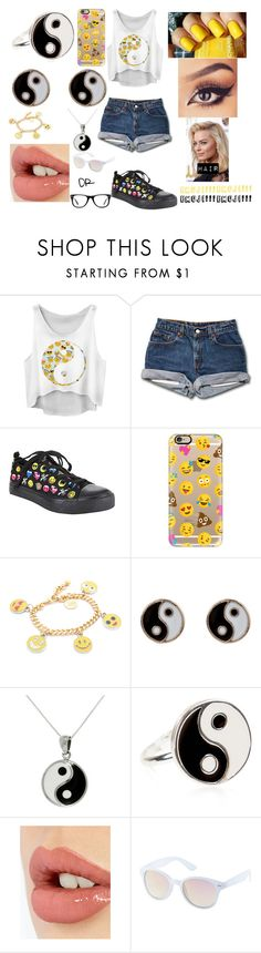 """""""Emoji!!!"""" by magcon-and-o2l-bish ❤ liked on Polyvore featuring Casetify, Venessa Arizaga, Accessorize, Carolina Glamour Collection, Charlotte Tilbury, Charlotte Russe, Muse and CO"""