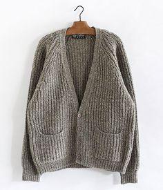 Old Shetland wool cardigan