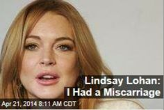 Latest News:  Lindsay Lohan:  I Had a Miscarriage.  Lindsay Lohan's time on reality television may have blessedly drawn to a close, but she went out with a bomb on last night's Lindsay finale, revealing the startling reason behind a two-week hiatus she took from filming.  Get all the latest news on your favorite celebs at www.CelebrityDazzle.com!