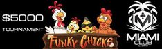 Win a share of $5,000 in the January month long Funky Chicks #slot tournament at Miami Club #Casino- https://www.freeslotmoney.com/5000-funky-chicks-slot-tournament-miami-club-casino/