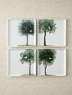 Arboretum Plates (Set of 4)