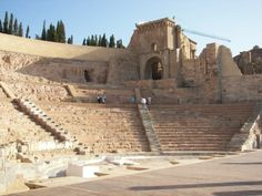 Teatro Romano de Cartagena #spain #cartagena