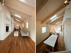 japanese architecture practice case-real (koichi futatsumata) has shared with us images of 'house in saitozaki',   a private family residence in fukuoka, japan